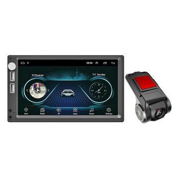 7 Inch Touch Screen Android 8.1 Car Stereo MP5 Player GPS Navi FM Radio WiFi BT4.0 U Disk Head Unit Auto Recorder Dash Camera