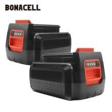 Bonacell For Black & Decker 40V 3000mAh Li-ion Rechargeable Power Tool Battery LBXR36 BL2036 LBX2040 LST136,LST420,LST220 L10