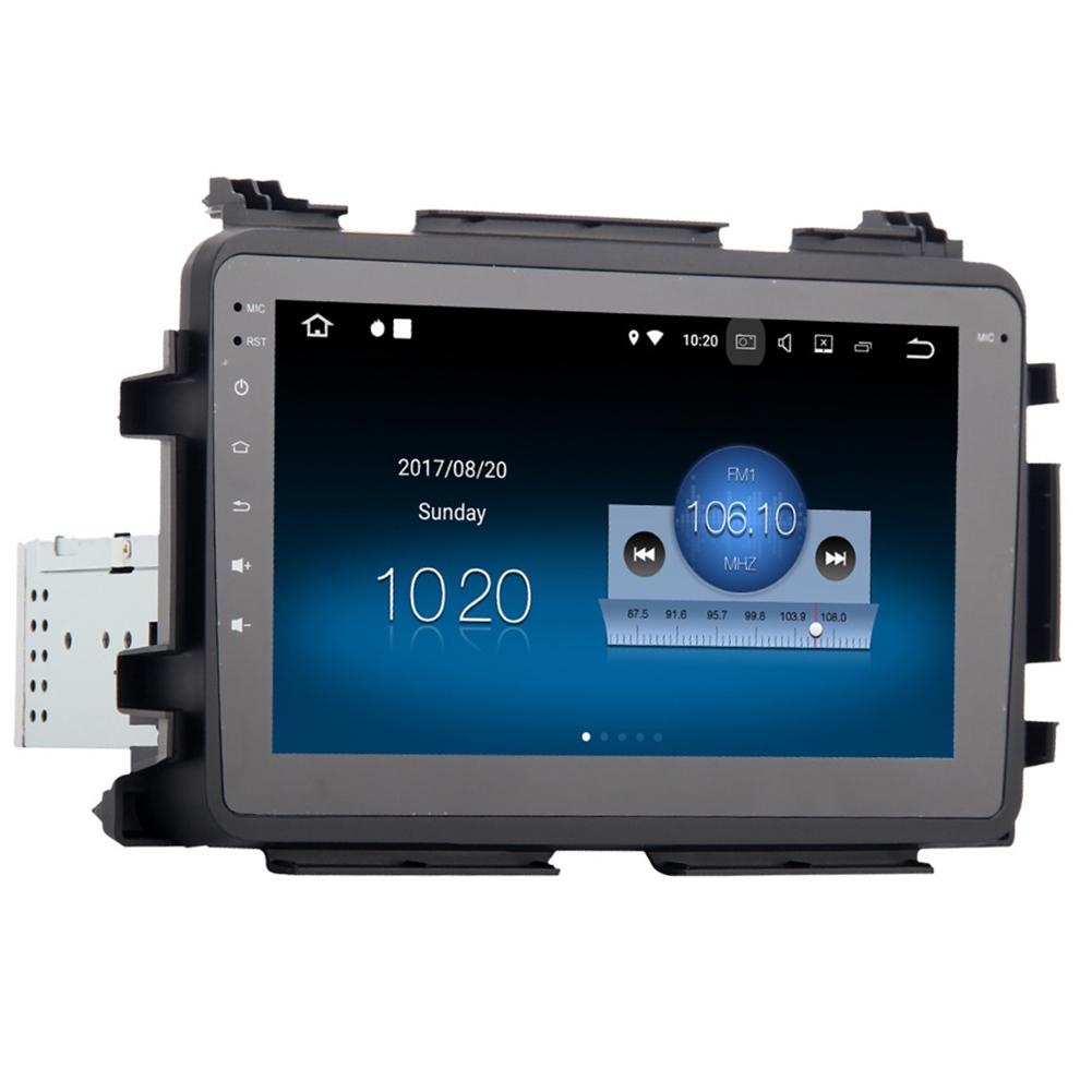 1 Din Car Radio GPS Player Multimedia Video Player Android 8.0 8in HD 1080P Touch Screen for Honda Vezel HR-V HRV 2014-2017 r20 image
