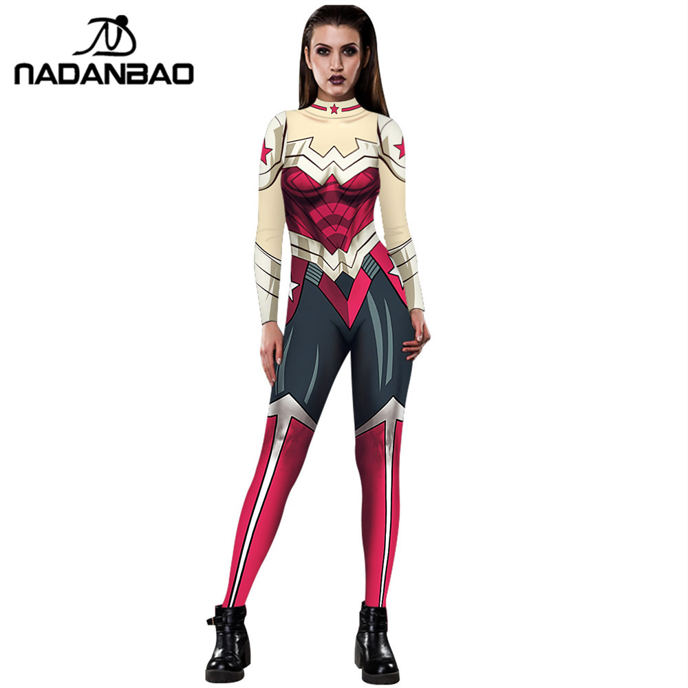 Nadanbao New Arrival Wonder Woman Cosplay Costumes For -9932
