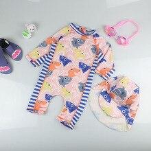 Troncos Swimwear Para A Menina do bebê Crianças Meninos Dos Desenhos  Animados Praia Surf Maiô Crianças Maiô + Chapéu de Proteção. 0a61e8cccc5