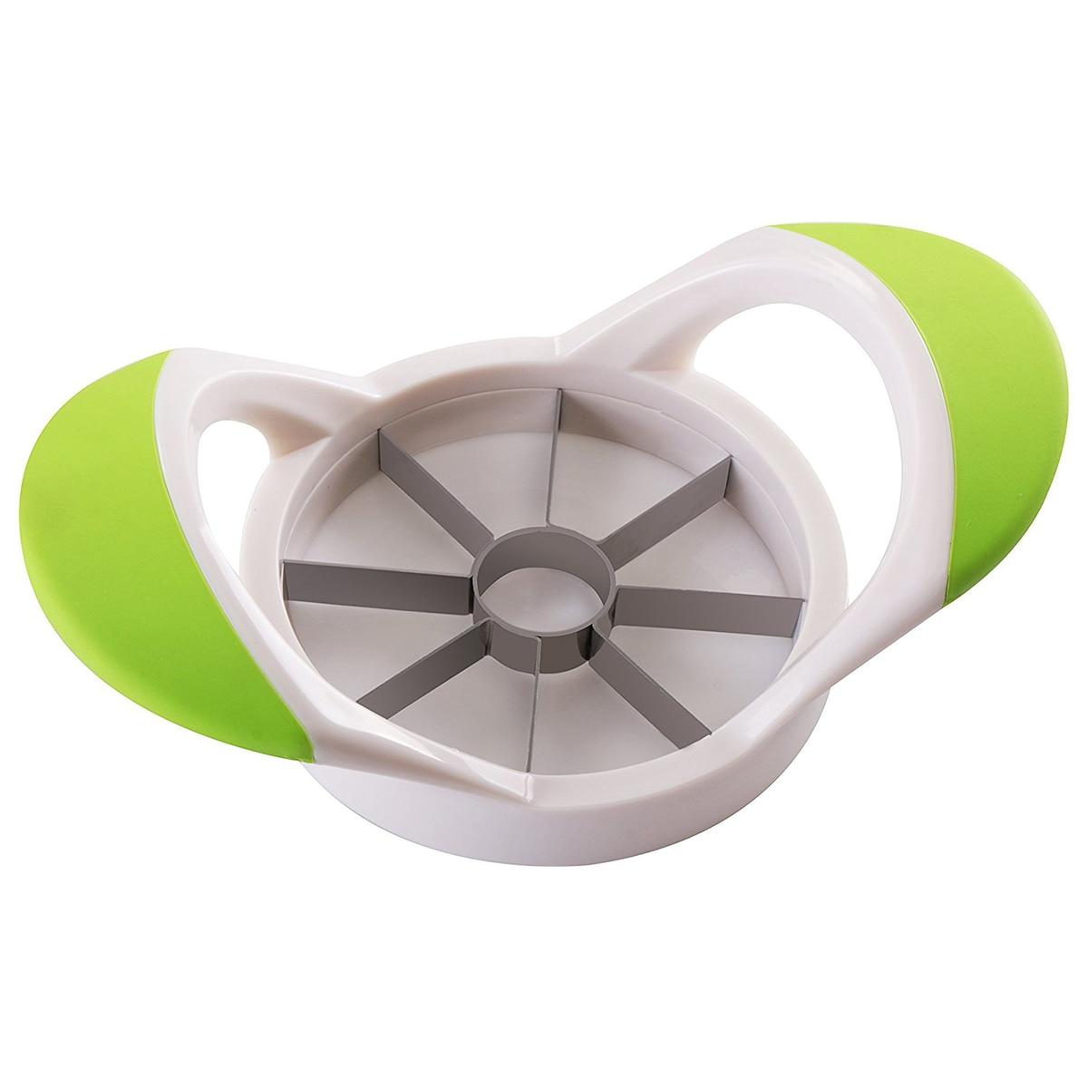 Mela Affettatrice-Corer-Divider-Cutter-In Acciaio Inox-100% Resistente Alla RuggineMela Affettatrice-Corer-Divider-Cutter-In Acciaio Inox-100% Resistente Alla Ruggine