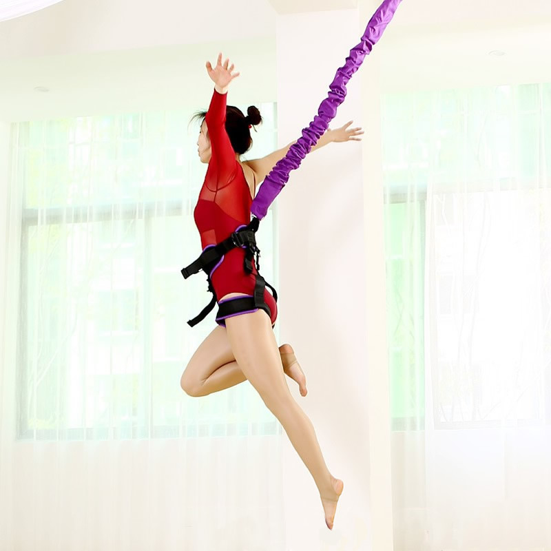 Bungee Dance Flying Suspension Rope Aerial Anti gravity Yoga Cord Resistance Band Set Workout Fitness Home