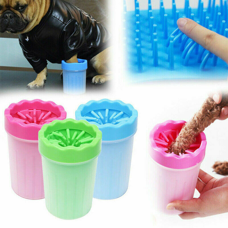 Portable Pet Paw Plunger Mud Cleaner Cup Silicone Washer Mudbuster Dog Pet Paw Cleaner Universal Dog Using Cleaning Tool 29