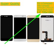 10Pcs/lot For Huawei Y6 ii Y6II Compact LYO-L01 LCD Display Touch Screen Assembly Y6II Compact DUAL SIM LYO-L21 LCD Digitizer цена в Москве и Питере