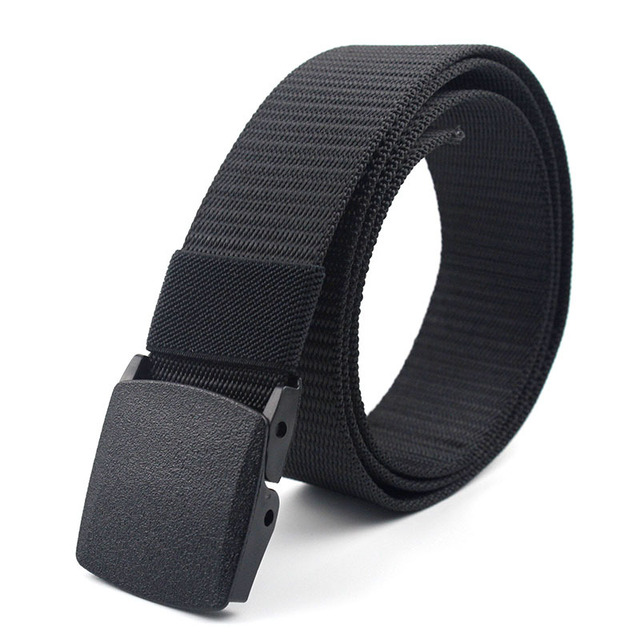 Military Nylon Adjustable Outdoor Travel Tactical Waist Belt 3