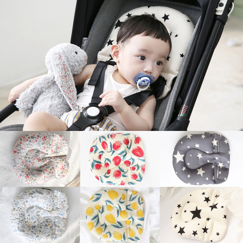 Infant Baby Pram Stroller Car Seat Pillow Cushion Babies Head Neck Protection Pillows Body Support Pad Mat Positioner