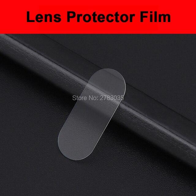 Para Motorola Moto G7 Plus/G7 Power/G7 Play Ultra delgado Protector de la Lente de la cámara trasera cubierta de la Lente de la cámara trasera película de vidrio templado