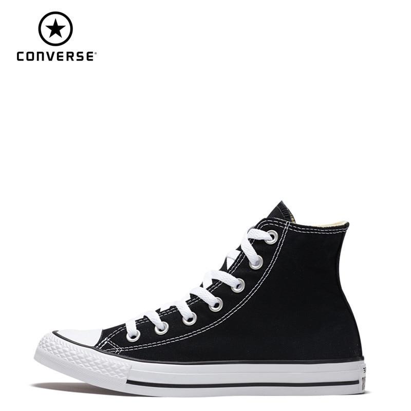 CONVERSE all star Chuck Taylor chaussures de skateboard unisexe haut Anti-glissant léger à lacets éternueurs plats #101009