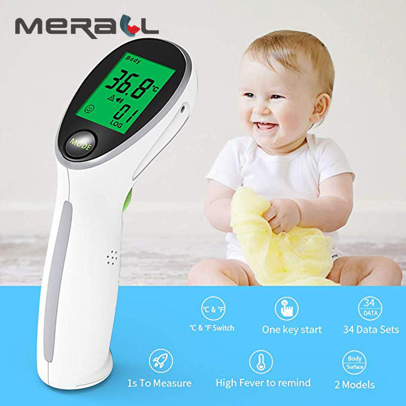 Electronic Thermometer For Body Children Termometre Medical Equipment Temperature Measurement Non contact Infrared Thermometer