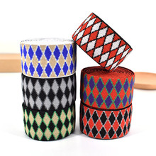 New 40mm Nylon Elastic Band Rhombic Style Thickening Belt For DIY handmade garment accessories Waistband