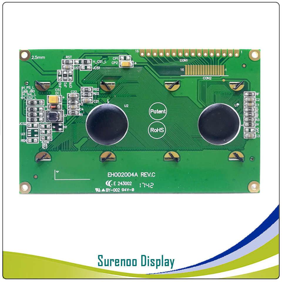 شاشة عرض OLED حقيقية ، المستوى العسكري 2004 204 20*4 شاشة وحدة LCD حرف LCM البناء في WS0010 ، ودعم SPI المسلسل