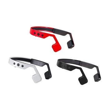 1Pcs Wireless Bone Conduction HiFi Bluetooth Earphone Running Sport Neckband Headsets Eadbuds Headphone