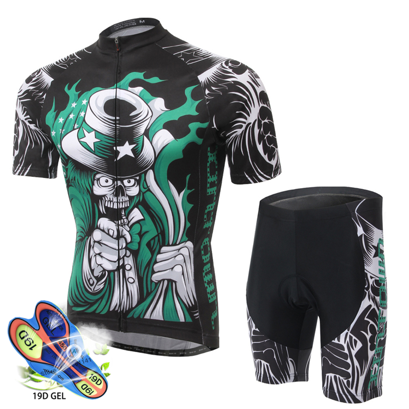 Triathlon Man Pro Cycling Jersey Bib Shorts Set 2019 Team <font><b>Bike</b></font> Uniform Suit Cycling Clothing Ropa Ciclismo MTB <font><b>Bike</b></font> <font><b>Wear</b></font> Clothes image