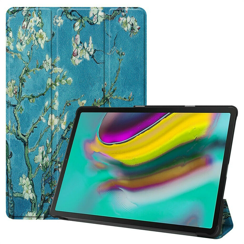 Smart Case For Samsung Galaxy TAB S5e 10.5 Wifi T720 2019Ultra Slim PU Leather Case For Samsung Galaxy TAB S5e LTE 10.5 SM-T725 image