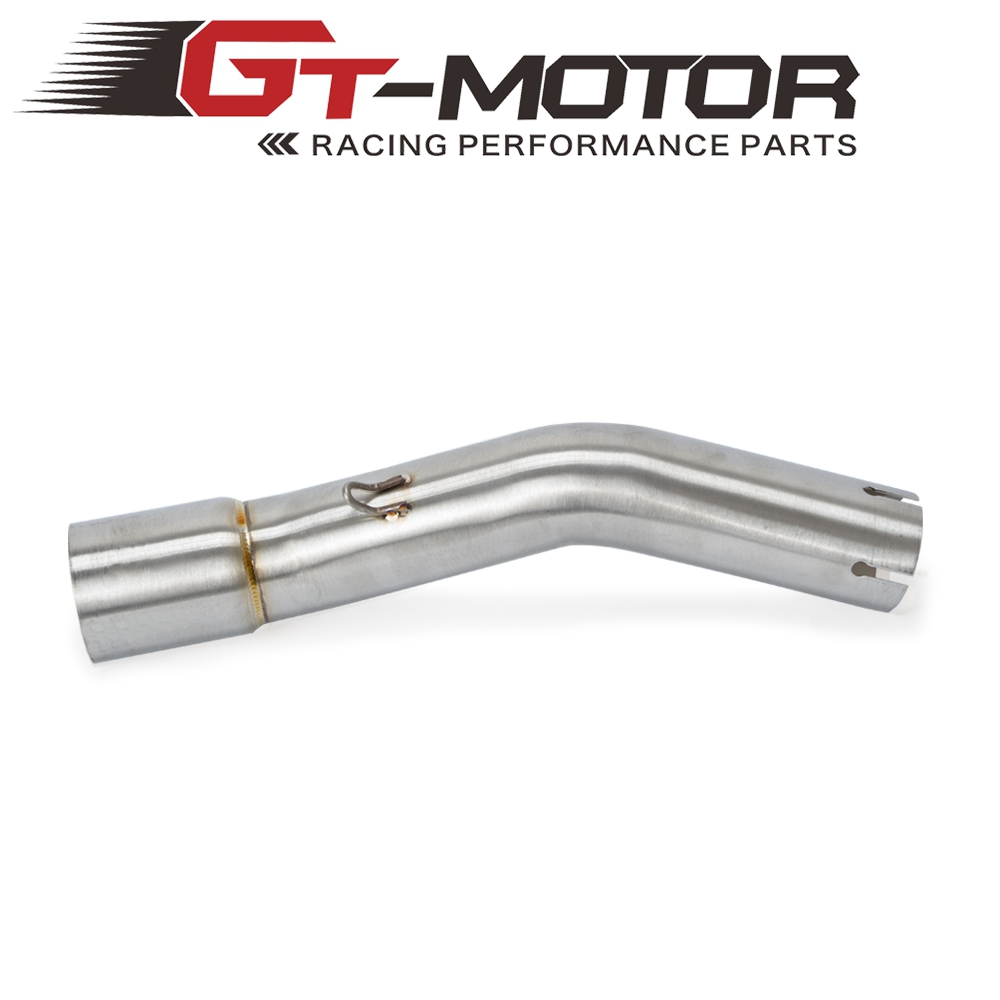 Motorcycle <font><b>Exhaust</b></font> System Slip On Slip-on Link Connecting Middle Pipe For <font><b>SUZUKI</b></font> <font><b>GSX250R</b></font> GSX 250R 2017 2018 image