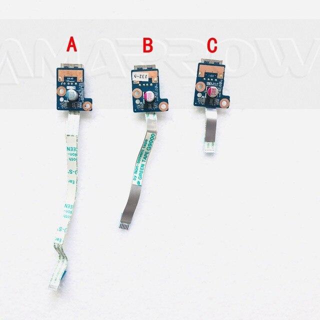 Originale per Hp G4 G4 1000 G6 G6 1000 G7 G4 1125DX 1015 HSTNN Q72C HSTNN Q68C Scheda Usb 643502 001 DAR22TB16D0