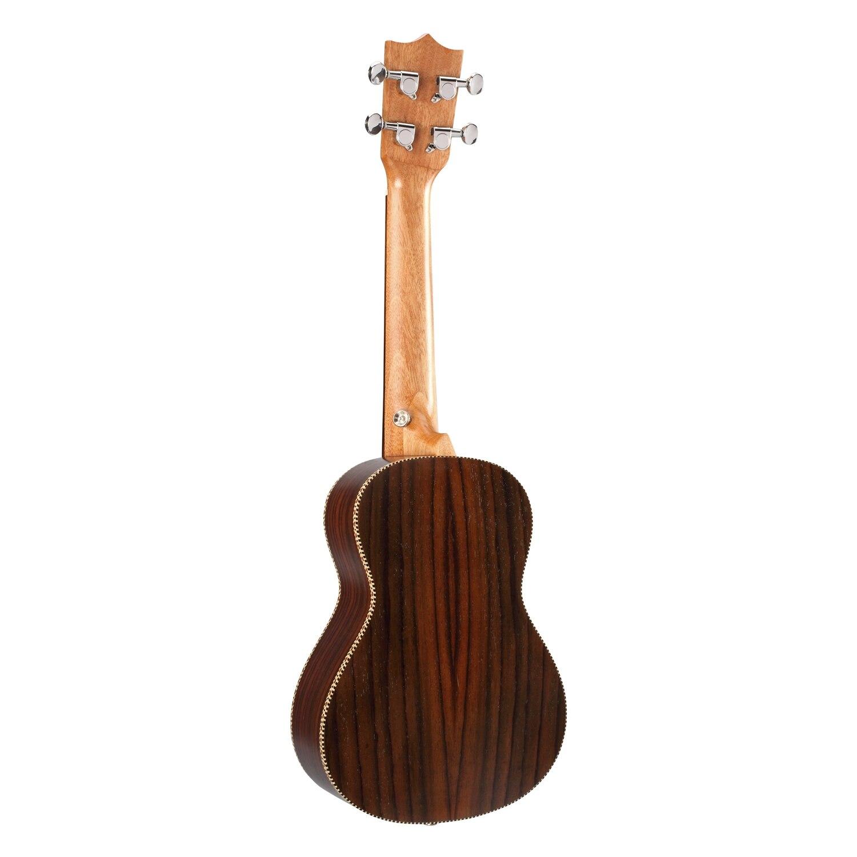Nouveau BURKS ukulélé Concert ukulélé palissandre uku ukulélé avec chaîne Aquila mini Hawaii guitare Instruments de musique - 2