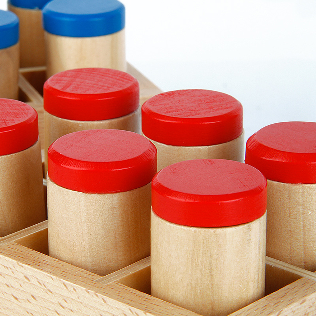 Sound Cylinder Box Set Wooden Toy for Kids Montessori Sensorial Toy
