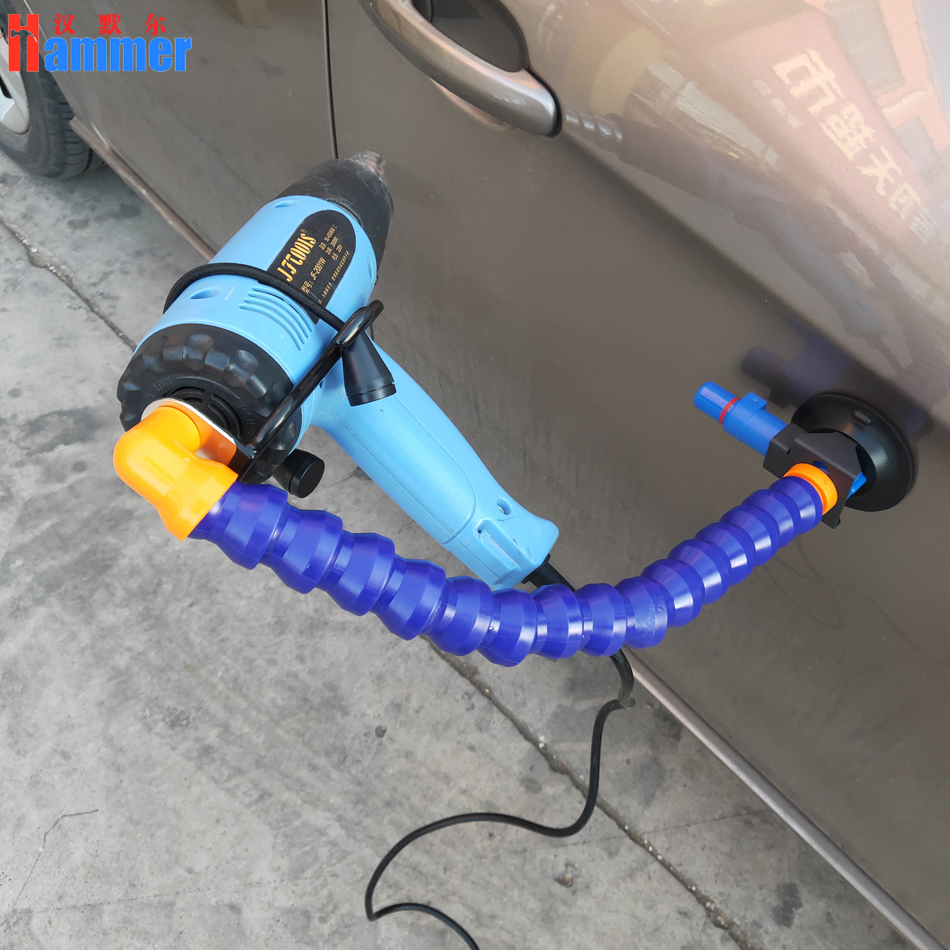 hot air gun stand for car dent repair tools PDR King tools hair dryer tools hail dent removal pipe stand PDR King lamp