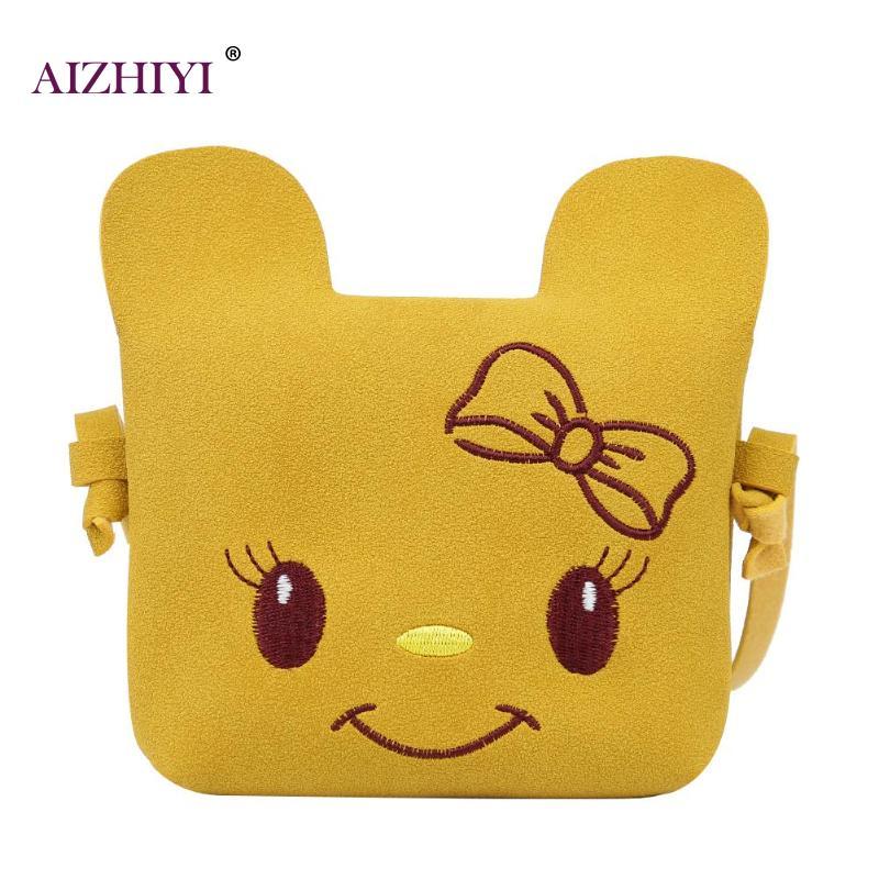 Nette Mädchen Cartoon Geldbörse Kinder Crossbody Schulter Tasche Messenger Taschen Knitterfestigkeit Crossbody-taschen