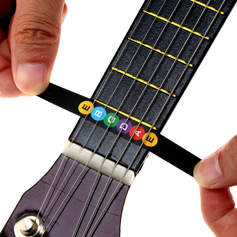 Musical Instruments Guitar Fretboard Note Sticker Musical Scale Label Fingerboard Stickes Notes Map For Musical Instruments Learning Sports & Entertainment