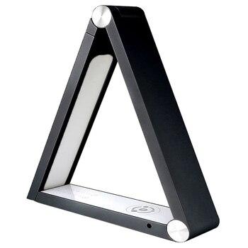 Lámpara de escritorio de luz inalámbrica Qi Led para Iphone Xs Max/Xr/Xs/X/8/8 Plus ¡galaxy S8 S9 con inteligente 5 prensa Sensi