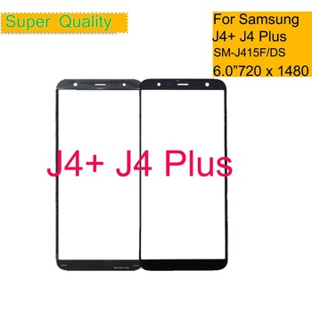"50Pcs/lot TouchScreen 6.0"" For Samsung Galaxy J4 Plus J4+ J415 SM-J415F/DS Touch Screen Front Outer Glass Lens J415F/DS 2018"