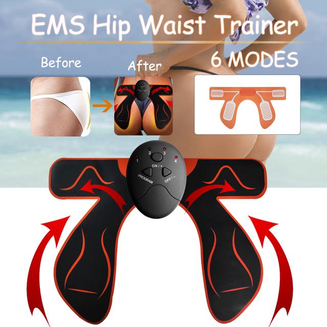 Household Smart Hip Trainer Buttocks Butt Lifting Bum Lift Up Fitness Massage Machine Electric Vibration Muscle Stimulator