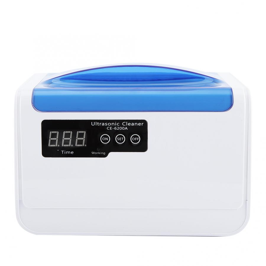 Digital Ultrasonic Cleaner 1 4L Tableware Jewelry Necklace Tooth Watch Ring Cleaning Electronic Washing Bath Timer
