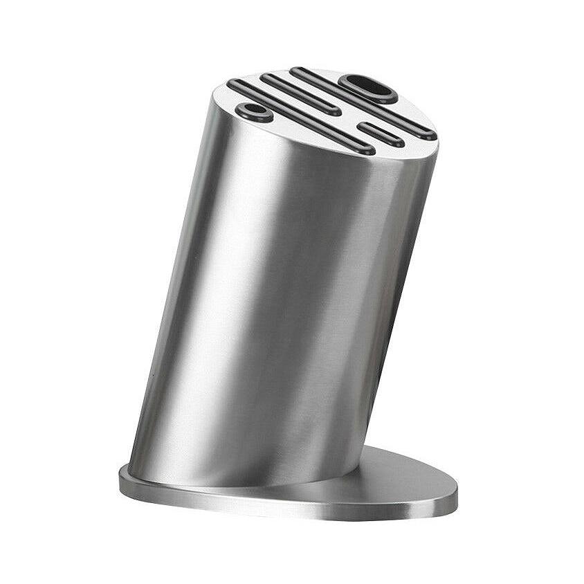 Knife Block Knives Holder Organizer Storage Block Premium Stainless Steel Knife Rest Shelf Kitchen Tools Accessories