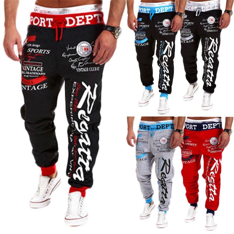 319d39b21 Pants Special Section Fashion Men Hip Hop Cross-pants Spring Scrawl Print  Cross Pants Long Trousers Men Fit Loose Dance Workout Joggers Gym Sweatpants  ...