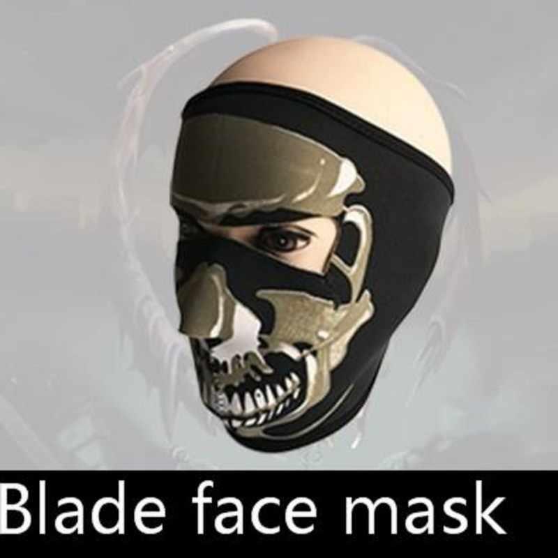 И зимняя верхняя одежда куртка для велоспорта сохраняющая тепло маска человеческий скелет гримаса половина полное оборудование для лица может подгонять шаблон