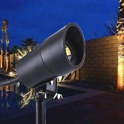 3W oświetlenie ogrodowe LED IP67 wodoodporna aluminiowa lampa trawnikowa DC12-24V oświetlenie krajobrazu na zewnątrz trawy reflektor