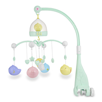 Baby Crib Toddler Toy Mobile Musical Birds Rattles Bed Twist Hanging Bell Baby Rattles & Mobiles