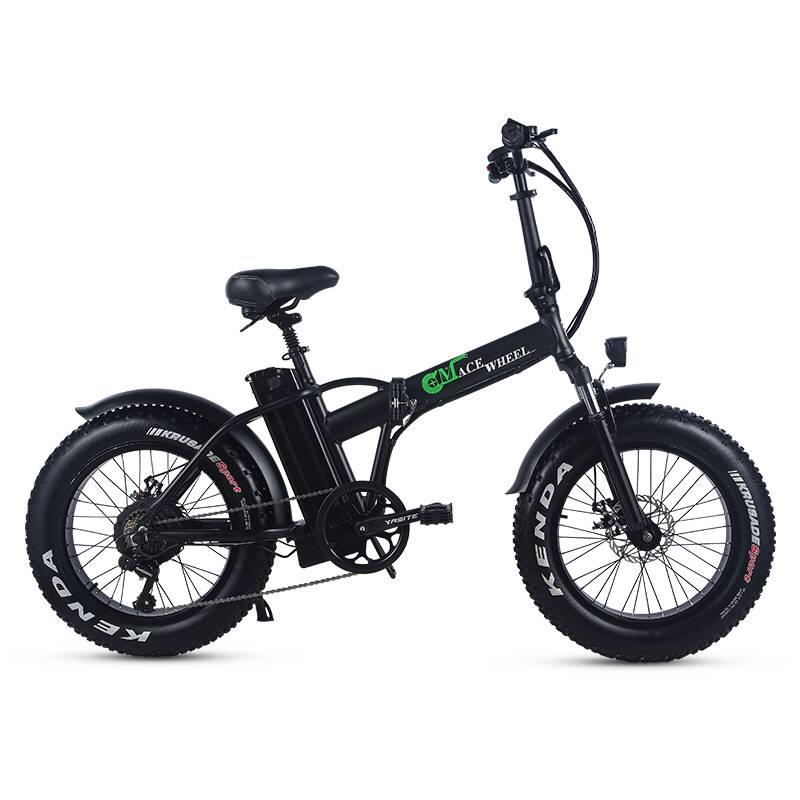 Eléctrico portátil bicyc 20 pulgadas de nieve del coche de la bicicleta 48V15AH de la batería de litio oculta en frame500W motor de alta velocidad doble elegir