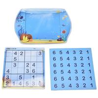 Kids Educational Board Games Magnetic Fish Tank Sudoku Number Game Multiplayer Interactive Puzzle Games