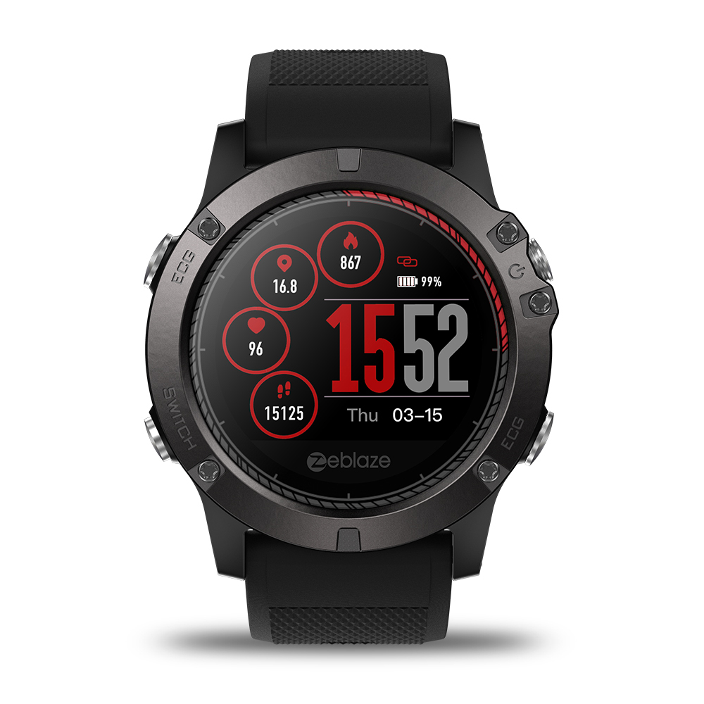 Zeblaze VIBE 3 ECG Watch GREENCELL Heart Rate Instant ECG Activity Run Route Tracking Sleep Monitor Smart Watch for Men WomenZeblaze VIBE 3 ECG Watch GREENCELL Heart Rate Instant ECG Activity Run Route Tracking Sleep Monitor Smart Watch for Men Women