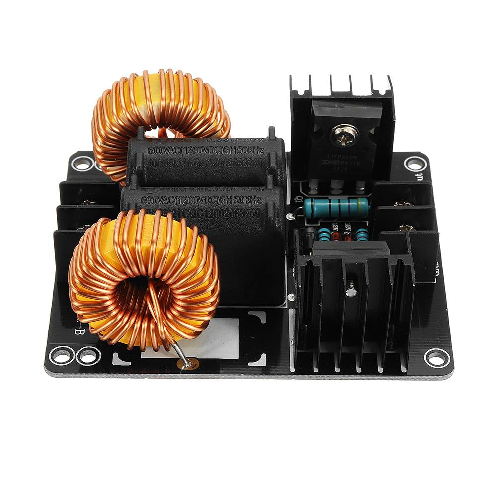 1000W 20A ZVS Low Voltage Induction Heating Coil Module Flyback Driver Heater Large Heat Sink Module Heater For Arduino