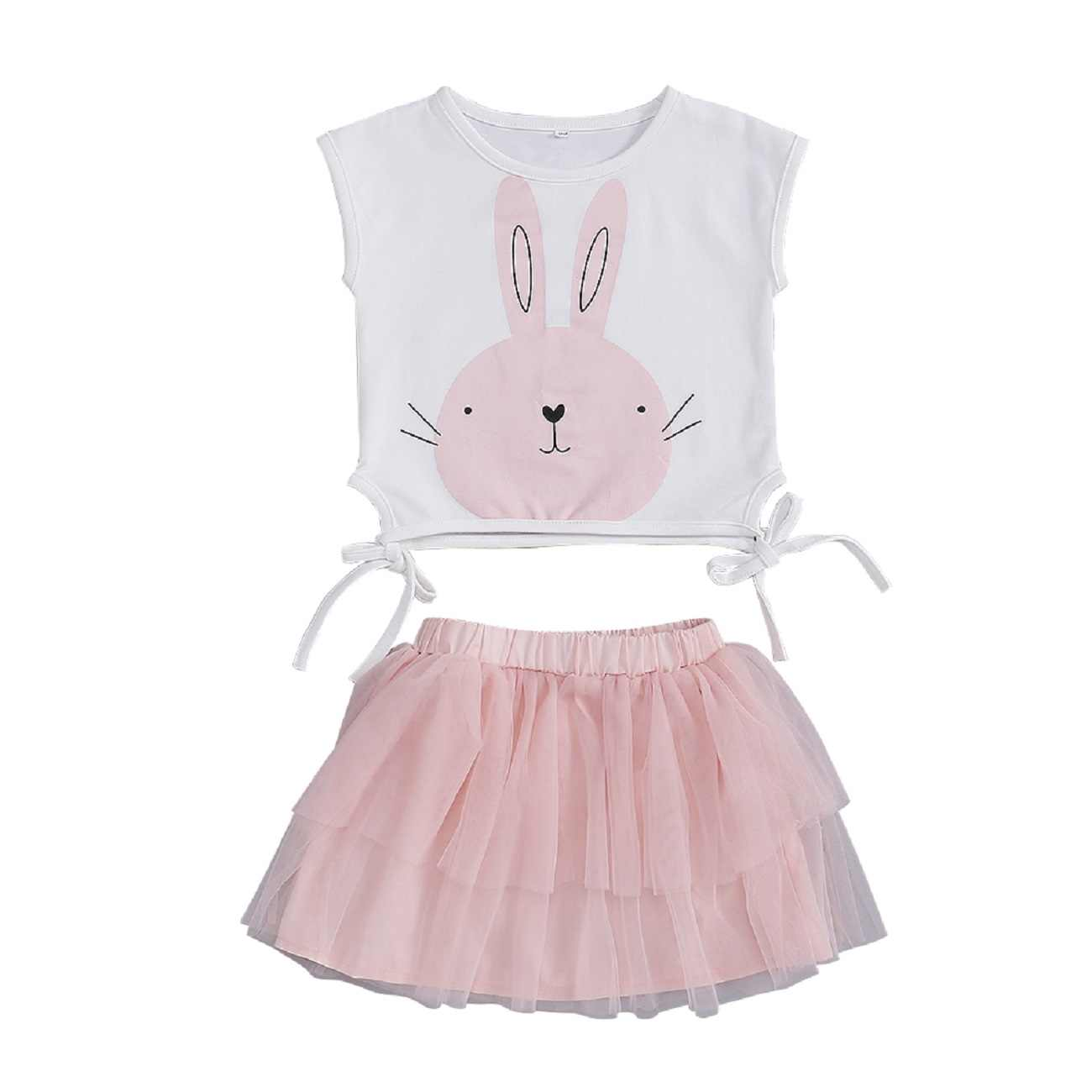 2cfea1ef2 Detail Feedback Questions about Pudcoco 2019 Summer 2PCS Toddler Baby Girl  Clothes Easter Bunny T Shirt Sleeveless Tops+Tutu Skirts Easter Pink Outfit  Set ...