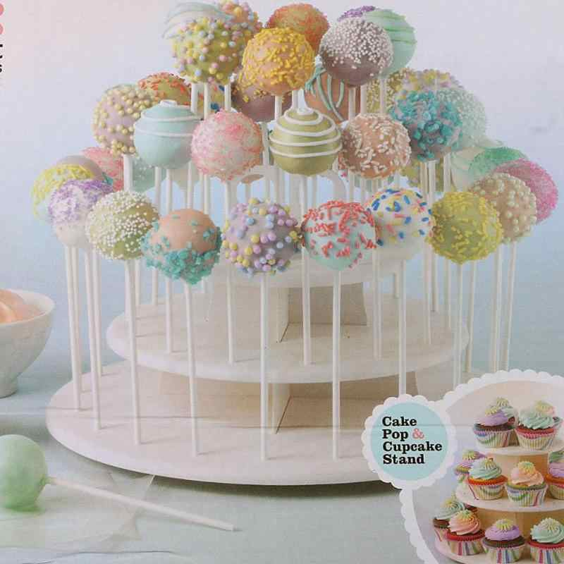 3 Tiers Snack Cake Server Cup Cake Display Stand Lolly Holder Cake Rack 21pcs Cupcake Stand 42pcs Cake Stands Lollipop Holder
