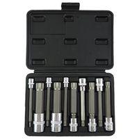 10Pcs Twelve Angle Sleeve 12 Head Quick Spanner Plum Blossom Star Spear Nozzle Screwdriver Key Socket Wrench Set