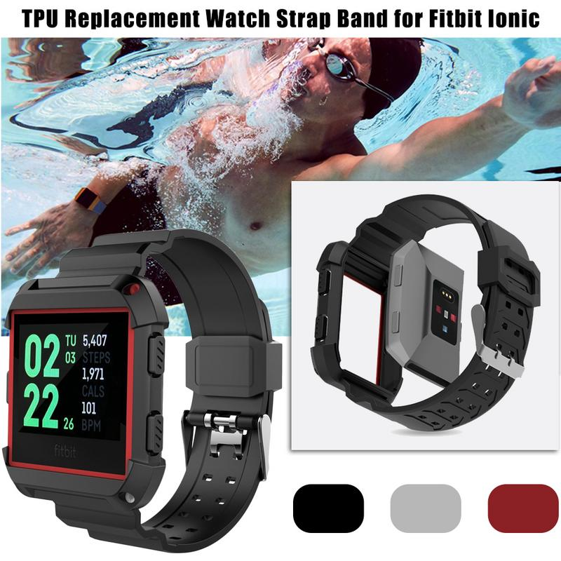 Image 5 - Silicone Soft Sports Watch Band TPU Resilient Breathable Replacement Strap Lightweight Durable Wrist Bracelet For Smart Watches-in Smart Accessories from Consumer Electronics