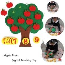 Puzzle Toys For Children Apple Tree Matc