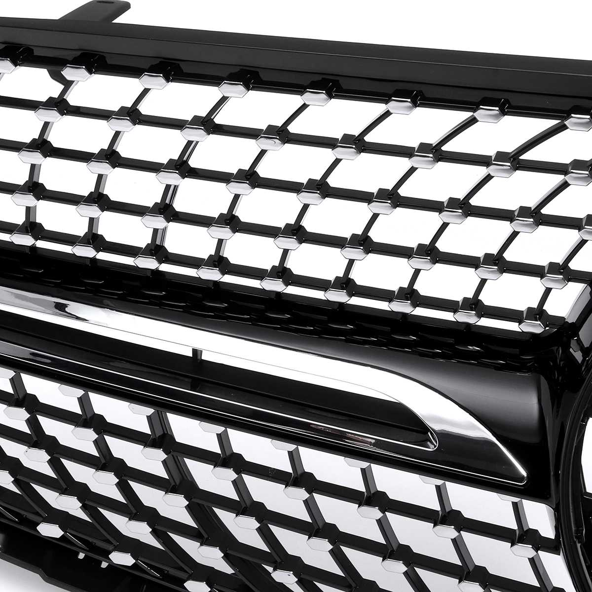 Diamond Style W253 Car Front Bumper Mesh Grille Grill For Mercedes For Benz GLC Class W253 GLC300 GLC350 2015-2019