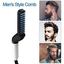Multifunctional Hair Comb Brush Curling Iron Hair Volumize Flatten Side And Straighten Hair Curler Quick Hair Styler For Men numpy flatten matrix