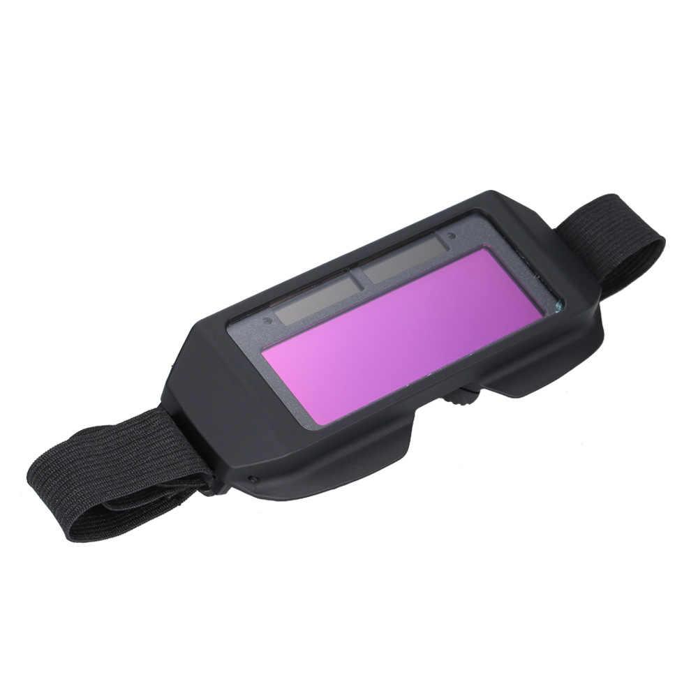 Солнечные сварочное стекло фотоэлектрический сварки Маска шлем практические средства ухода для век, защиты сварки защитное снаряжение