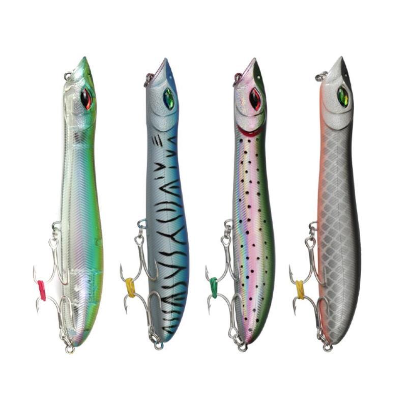 Fishing Capable Lushazer Popper Snake Head Lifelike Minnow Wobbler Fishing Lure Bait W/hook Fishing Lures
