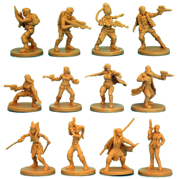 Image 3 - 1/48 Scale Model Star Wars Soldier Resin Figure Wargame Diy Kit Hobby Tool Imperial Assault Giocattoli Free Shipping-in Model Building Kits from Toys & Hobbies