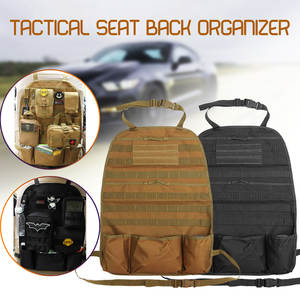 Multifunction Outdoor Tactical Molle Car Seat Organizer